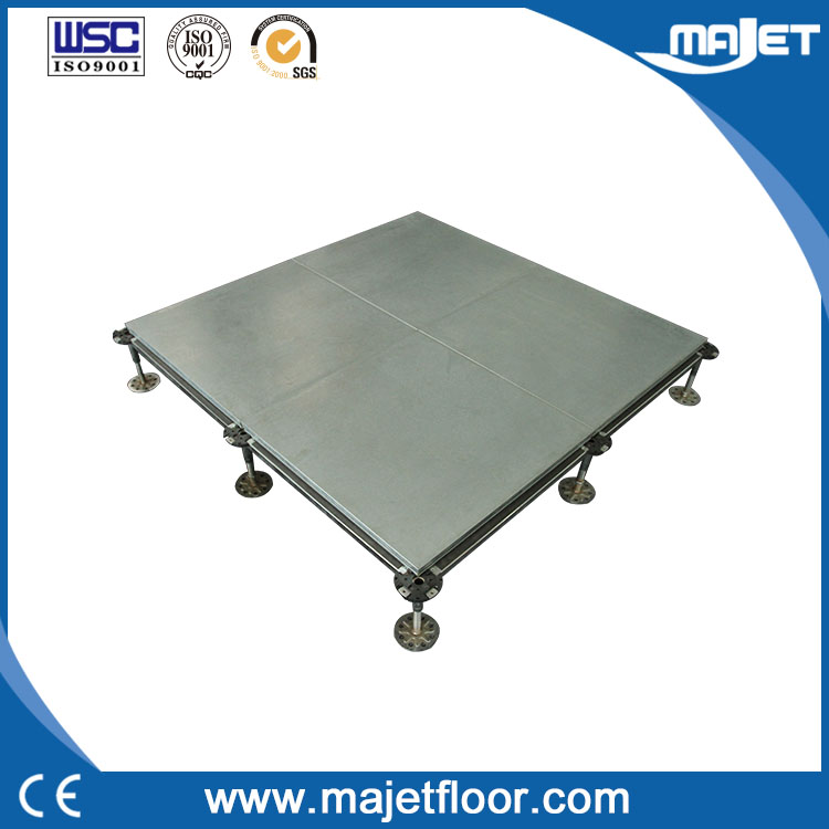 Encapsulated panel calcium sulphate access floor